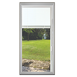 Universal 22 x 48 - Hurricane Impact Raise & Lower Blind Glass & White Frame